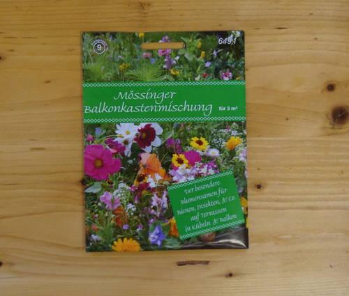 Produktbild Saatgut: Mössinger Balkonkasten-Mischung