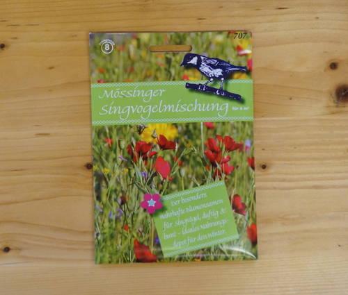 Produktbild Saatgut: Mössinger Singvogelmischung